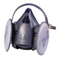 Masca protectie cu filtre 3M hipoalergenic cod 7502
