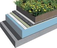 Membrana PVC SikaTrocal SGmA 1,8 acoperis verde