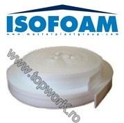 Spuma de polietilena sub forma de banda perimetrala ISOFOAM 5mm