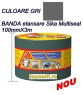 Banda etansare Sika Multiseal gri 10cmX3m