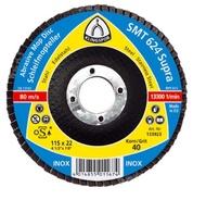 Disc lamelar frontal SMT624 SUPRA GR 36 - 120 KLINGSPOR 115X22.23