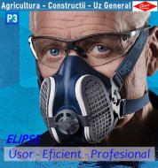 STOC EPUIZAT Masca de praf cu filtre detasabile Elipse PRO