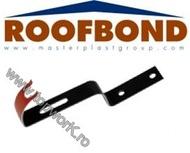 Element de fixare coama pentru acoperis ROOFBOND - tigla beton - 8012 rosu