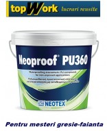 Hidroizolatie baie sub gresie Neoproof PU 360 la 13 kg