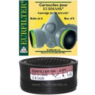 INDISPONIBIL Filtru protectie gaz + vapori pt. semimasca Eurmask UNO si DUE A1P2R