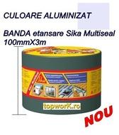 Banda Aluminizata acoperis Sika Multiseal 10cmX3m