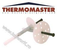 Diblu cu rozetă şi tijă THERMOMASTER D 110 mm 250 buc