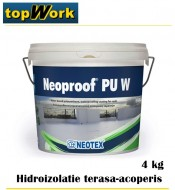 Membrana lichida acoperis pret la 4 kg TopWork Neoproof-40 4kg