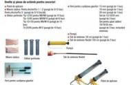 Mixer Static Sika Powerfix 1 pentru Sika Anchorfix set de 5 bucati