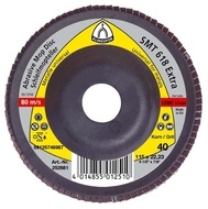 Disc lamelar frontal SMT 618 EXTRA GRANULATIE 40 KLINGSPOR 115X22.23