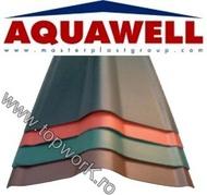 Element de coama AQUAWELL LINE  -  maro