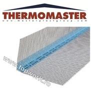 Profil PVC de colt cu plasa la 2,5 m THERMOMASTER  50 buc 10+10
