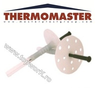 Diblu cu rozetă şi tijă THERMOMASTER D 140 mm 250 buc