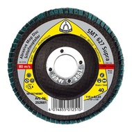 Disc lamelar frontal SMT 627 SUPRA GR 40 - 120 KLINGSPOR 125X22.23