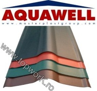 Element de coama AQUAWELL LINE - verde