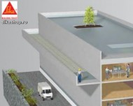 Vopsea fatade si protectie beton SikaGard 550 W 15 litri