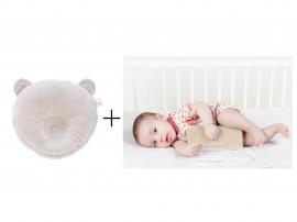 Perna pt formarea capului bebe + Suport antirostogolire