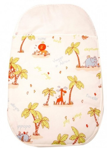 Sac de dormit bebe 0-3 luni BEBEDECO Jungle- cod SNNFP21s