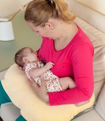 PACHET PROMO Perna pentru alaptat Husa bumbac Safari+ Perna pt formarea capului bebelsului