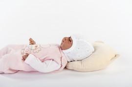 Perna pt formarea capului bebelusului Bebedeco galben