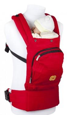 BabyGo – Marsupiu anatomic Cangoo Active Air Red