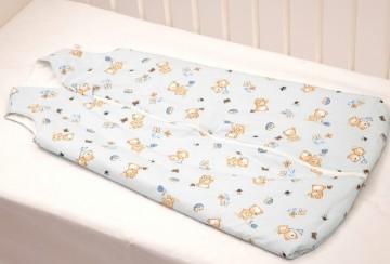 Sac de dormit copii 4 ani - 5 ani BEBEDECO de iarna cu dubla deschidere BUTTERFLIES - cod SI24140