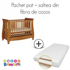 Tutti Bambini – Set patut + salteluta pentru bebelusi Katie Oak