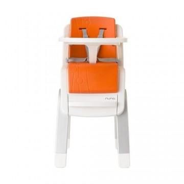 NUNA Scaun de masa Zaaz White Orange