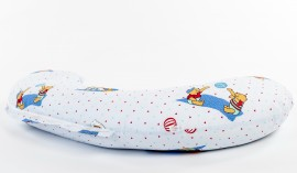 Perna pentru gravide in forma literei C BEBEDECO Ursuletul Winnie