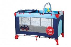 BabyGo – BGO4401 – Patut pliant cu 2 nivele SleepWell Car