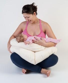 Perna gravide 3 in 1 Bebedeco Somn Usor alb
