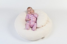 Perna gravidei 3 in 1 Bebedeco Somn Usor crem