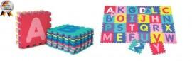Salteluta de joaca cu cifre si litere Puzzle 26 piese