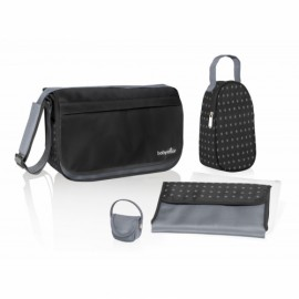 Babymoov – A043546 Geanta multifunctionala Messenger Black