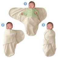 Summer Infant – 55896 Sistem de infasare pentru bebelusi Stelute gri, 0-3 luni