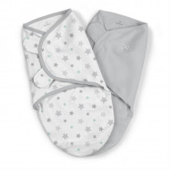 Swaddle Me - Sistem de infasare 2 piese Starry Skies, 0-3 luni