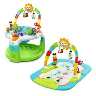 60539 Bright Starts - Centru de activitati 2 in 1 Laugh & Lights