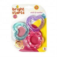 Set jucarii pentru dentitie Chill & Teethe Pink