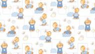 Fotoliu copii din burete neextensibil BEBEDECO Bee Friends - cod FB18 - 2 marimi