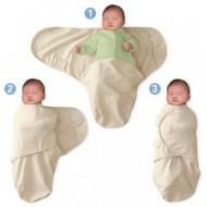 Summer Infant - 55906 Sistem de infasare pentru bebelusi gray star, 4-6 luni