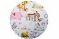 Sac dormit copii 3 ani - 4,5 ani BEBEDECO de iarna cu dubla deschidere FERMA ANIMALELOR- cod SI17120