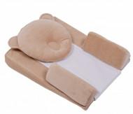 Perna bebe 3 in 1 Bebedeco SOMN USOR antireflux, antirostogolire, antiregurgitare + Perna cap bebe