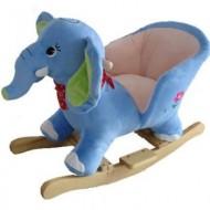 BabyGo – Balansoar cu sunete Elefantul Curios