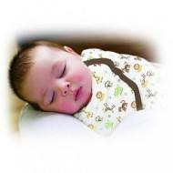 Summer Infant - 55866 Sistem de infasare pentru bebelusi Jungle, 4-6 luni