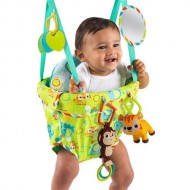 10837 – Bright Starts - Jumper Deluxe Smiling Safari