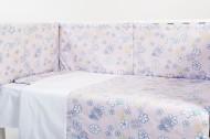 Lenjerie patut copii 5 piese BEBEDECO Sweet Dreams - cod LI5P19