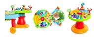 Bright Starts – 60368 Centru de activitati 3-in-1 Around We Go Zippity Zoo