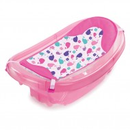 Summer Infant-09376-Set cadita si suport de baita Sparkle and Splash – Pink