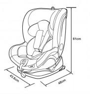 Apramo – Scaun auto Rotativ, 4 in 1 ONE, 0-36 kg Yorkshine Brown