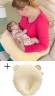 PACHET PROMO BEBEDECO Perna alaptat + Perna pentru formarea capului bebelusului diverse culori
